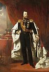Portrait of King Willem III of the Netherlands, Nicolaas Pieneman (1856).jpg