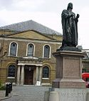 Wesley's Chapel And Statue.jpg