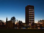 Umass Amherst Chapel & Library in the evening.jpg