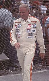 Cale Yarborough in race attire