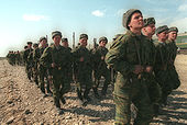 Troops of 98th Airborne Division in Chechnya; March 20th, 2000