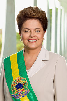 Official portrait of Dilma Rousseff