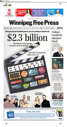 Front Page - January 11, 2007