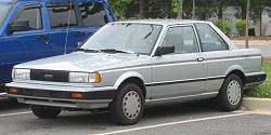 1989-1990 Nissan Sentra 2-door (US)